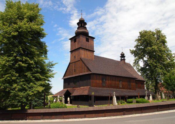 Dřevěný kostel Sedliště