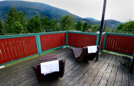 Odpočinek po pobytu v sauně