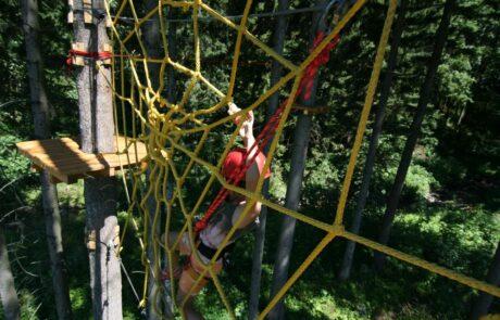Lanový park Tarzanie